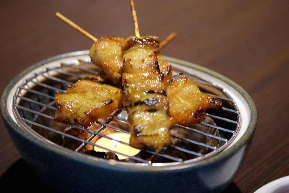 signature steamed grilled deep fried gae yang grilled rack of