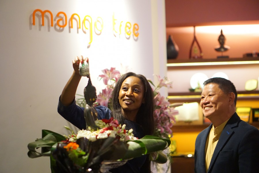 Beverley Knight Celebrates Thai New Year At Mango Tree.